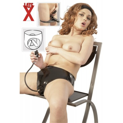 SLIP IN LATEX CON 2 FALLI INTERNI GONFIABILI